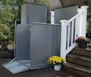 VPL Vertical Platform Lift, Wheelchair, porch/deck lifts, Ramps Kitchener / Waterloo Kitchener Area image 3