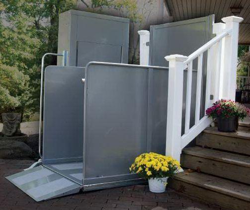 Vpl Vertical Platform Lift Wheelchair Porch Deck Lifts