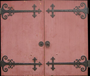Antique-Church-Cathedral-Door-Set-From-an-Old-Cathedral-Approx-130-Years-Old
