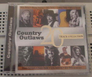 """CD - Country Outlaws """"20 Track collection"""""""