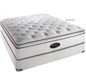 $299 PRICE REDUCED! MOVING SALE! QUEEN MATTRESS & BOX SPRING SET