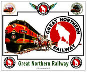 Great Northern Railway Sign