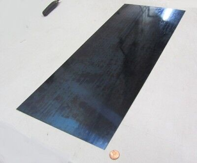 Blue Tempered Spring Steel Shim 0.035 X 12.375 X 24 Length M