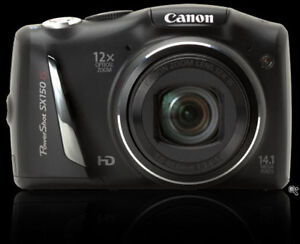 Canon Digital Camera PowerShot SX150 IS 14.1 MP HD