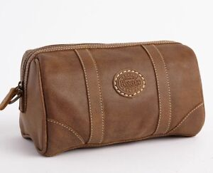 Roots Banff Tribal Leather Travel Kit