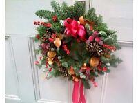 Christmas Door Wreath Workshops