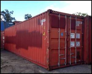 SHIPPING CONTAINER 40FT HIGH CUBES CARGO WORTHY Bundaberg Central Bundaberg City Preview