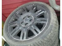 Ford mondeo transit connect 17 inch alloys only no tyres