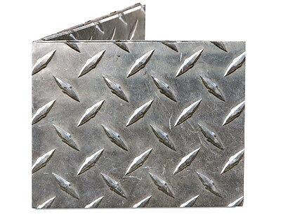 Dynomighty Diamond Plate Mighty Wallet Looks Like Metal Made Of Tyvek Bifold