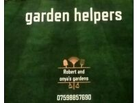 WANTED, NEW CUSTOMERS FOR ARE NEW GARDEN BUSINESS