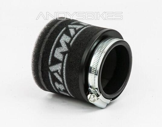 Universal 43mm Motorcycle RamAir Race Pod Racing Performance Air Filter
