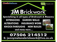 Bricklayer ****currently available ****
