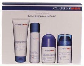 Clarins men grooming essentials gift set