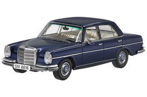 Orig. Mercedes 280 SE 3.5 W108 blau minimax 1:43  Modellauto Classic Collection