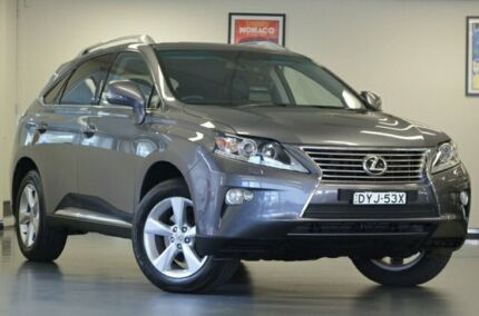 2014 Lexus RX350 GGL15R Luxury Mercury Grey 6 Speed Sports Automatic Wagon Chatswood Willoughby Area Preview