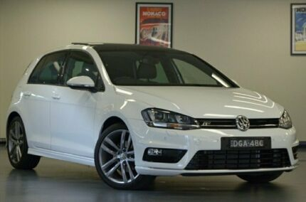 2017 Volkswagen Golf VII MY17 110TSI DSG Highline Pure White 7 Speed Sports Automatic Dual Clutch Chatswood Willoughby Area Preview