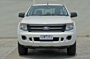 2013 Ford Ranger PX XL Double Cab White 6 Speed Sports Automatic Utility Seaford Frankston Area Preview