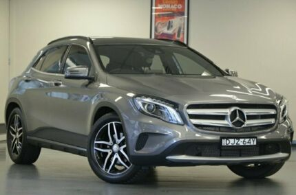 2016 Mercedes-Benz GLA180 X156 807MY DCT Mountain Grey 7 Speed Sports Automatic Dual Clutch Wagon Chatswood Willoughby Area Preview