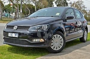 2016 Volkswagen Polo 6R MY16 66TSI DSG Trendline Black 7 Speed Sports Automatic Dual Clutch Frankston Frankston Area Preview