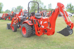NEW-Kioti CK2510 compact tractor , loader, backhoe