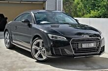 2015 Audi TT FV MY16 Sport S tronic quattro Black 6 Speed Sports Automatic Dual Clutch Coupe Berwick Casey Area Preview