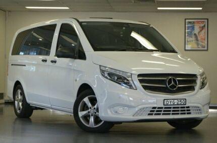 2016 Mercedes-Benz Valente 447 116BLUETEC White Semi Auto Wagon Chatswood Willoughby Area Preview