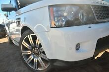 2012 Land Rover Range Rover Sport L320 12MY SDV6 CommandShift Autobiography White 6 Speed Sports Aut Osborne Park Stirling Area Preview