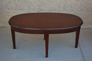 Hotel MacDonald Oval Coffee Table