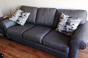 Brand New Couch, Love Seat and Ottoman