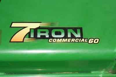 John Deere Tcu51200 7 Iron Commercial 60 Decal - 2320 3320 3520 3720 4120 4320 9
