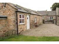 MEG COTTAGE IN THE RURAL VILLAGE OF CHATTON- NORTHUMBERLAND