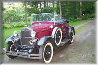 1931 Shay Ford Model A Deluxe Roadster, Drive Anywhere
