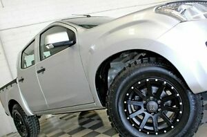 2014 Isuzu D-MAX TF MY14 SX HI-Ride (4x2) Silver 5 Speed Automatic Crew Cab Utility Burleigh Heads Gold Coast South Preview