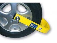 Stronghold wheel lock