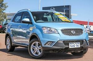 2011 Ssangyong Korando C200 SX AWD Blue 6 Speed Sports Automatic Wagon East Rockingham Rockingham Area Preview