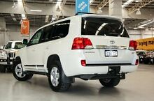 2012 Toyota Landcruiser VDJ200R MY12 Sahara White 6 Speed Sports Automatic Wagon Edgewater Joondalup Area Preview