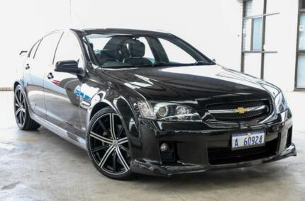 2009 Holden Commodore VE MY09.5 SS-V Black 6 Speed Manual Sedan Cannington Canning Area Preview