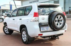 2012 Toyota Landcruiser Prado KDJ150R GX White 6 Speed Manual Wagon Wangara Wanneroo Area Preview
