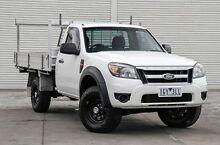 2011 Ford Ranger PK XL White 5 Speed Manual Cab Chassis Frankston Frankston Area Preview