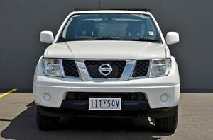 2013 Nissan Navara D40 S6 MY12 ST-X King Cab White 5 Speed Automatic Cab Chassis Cranbourne Casey Area Preview
