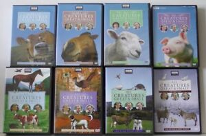 All Creatures Great & Small DVD Set, Series 1-7 (1978-1990).