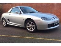 MG TF 1.8 Petrol Manual Convertible 2 Door Silver 2005