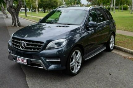 2013 Mercedes-Benz ML350 W166 BlueTEC 7G-Tronic + Grey 7 Speed Sports Automatic Wagon Rockhampton Rockhampton City Preview