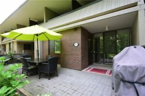 3+1 Bdrm Condo Townhouse + Private Balconies & Fin Bsmnt