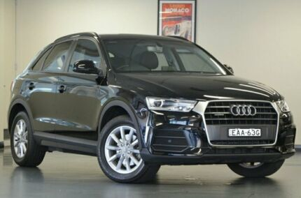 2016 Audi Q3 8U MY16 TDI Black 7 Speed Semi Auto Wagon Chatswood Willoughby Area Preview