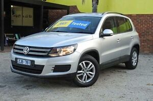 2012 Volkswagen Tiguan 5N MY13 103TDI Silver 7 SPORTS AUTOMATIC DUAL CLUTCH Wagon Upper Ferntree Gully Knox Area Preview