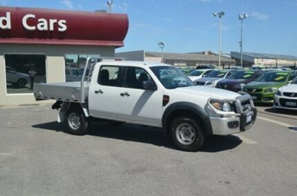 2011 Ford Ranger PK XL Crew Cab White 5 Speed Automatic Utility Bayswater Bayswater Area Preview