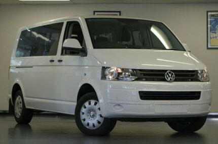 2015 Volkswagen Caravelle T6 MY16 TDI340 LWB DSG White 7 Speed Sports Automatic Dual Clutch Wagon Chatswood Willoughby Area Preview