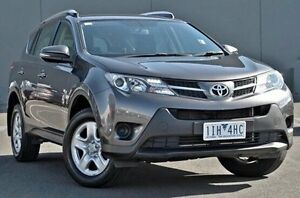 2013 Toyota RAV4 Grey Constant Variable Wagon Cranbourne Casey Area Preview