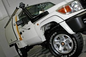 2010 Toyota Landcruiser VDJ79R GX White 5 Speed Manual Cab Chassis Burleigh Heads Gold Coast South Preview